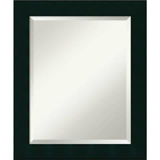 Bathroom Mirror Medium, Tribeca Black