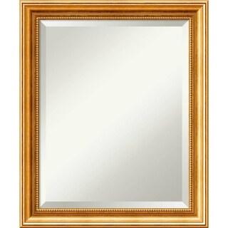 Bathroom Mirror Medium, Townhouse Gold 20 x 24-inch