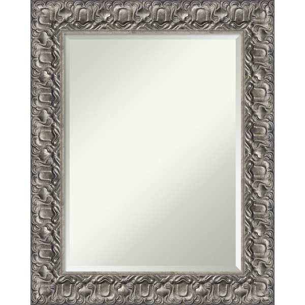 Bathroom Mirror Silver Luxor