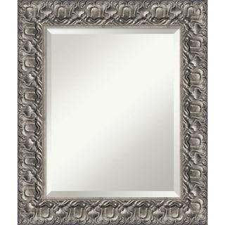 Bathroom Mirror, Silver Luxor