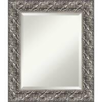 Bathroom Mirror Medium, Silver Luxor