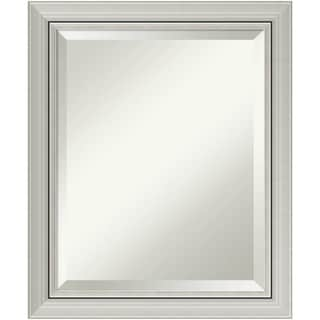 Bathroom Mirror, Romano Narrow Silver