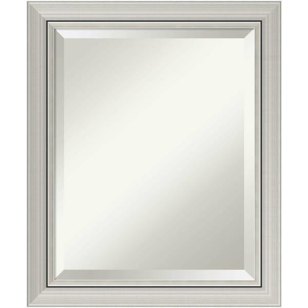 Bathroom Mirror, Romano Narrow Silver