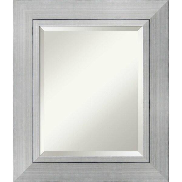 Bathroom Mirror Medium, Romano Silver