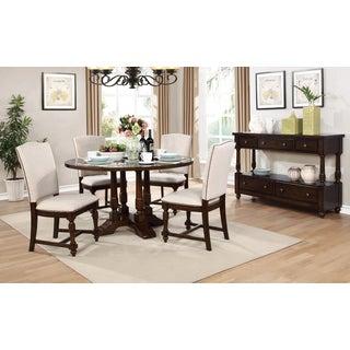 Best Master Furniture D1971 5 Pieces Round Dinette Set