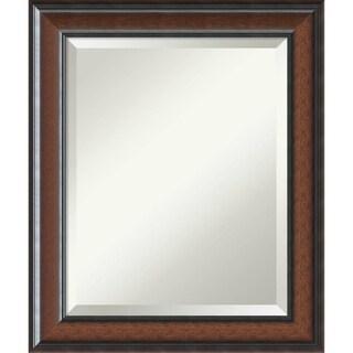 Bathroom Mirror Medium, Cyprus Walnut