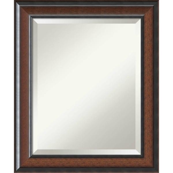 Shop Bathroom Mirror Medium, Cyprus Walnut - Free Shipping ...