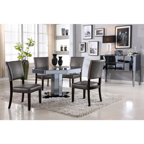 Octagon Dining Room Table: Shop Best Master Furniture D1120 5 Pieces Octagon Dinette