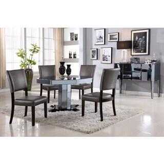 Best Master Furniture D1120 5 Pieces Octagon Dinette Set