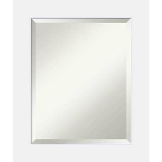 Bathroom Mirror Medium, Corvino White