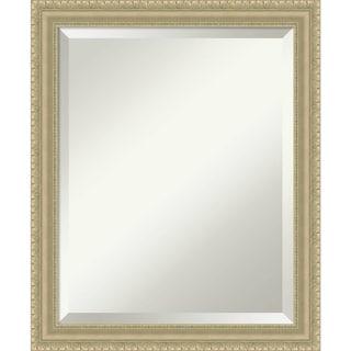 Bathroom Mirror Medium, Champagne Teardrop 19 x 23-inch