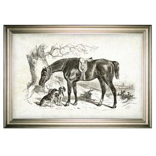 Equine Sketch IV -Silver Frame