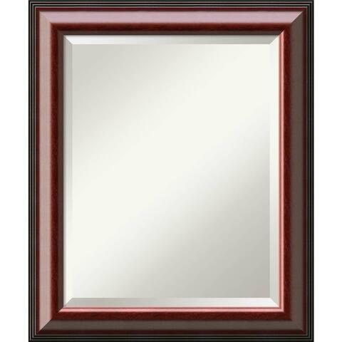 Bathroom Mirror Medium, Cambridge Mahogany