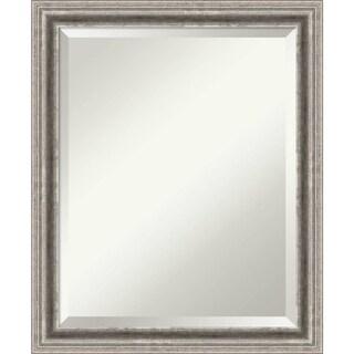 Bathroom Mirror Medium, Bel Volto Silver