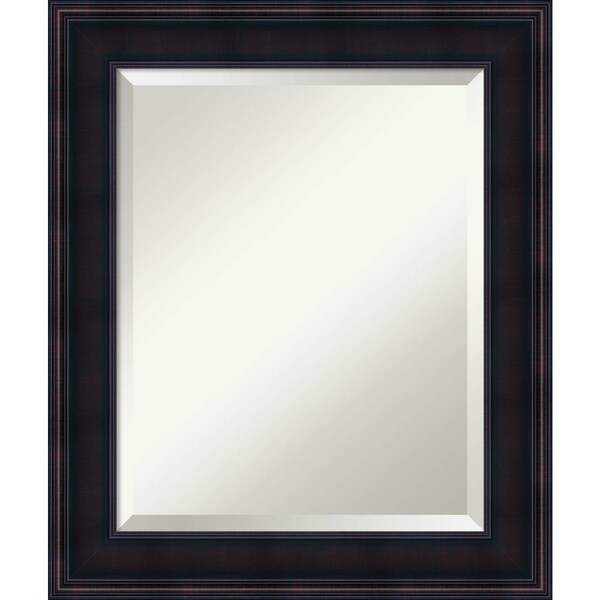 Bathroom Mirror Medium, Annatto Mahogany
