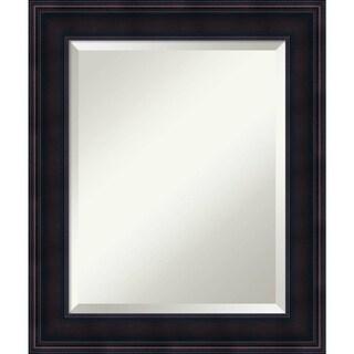 Bathroom Mirror Medium, Annatto Mahogany 21 x 25-inch