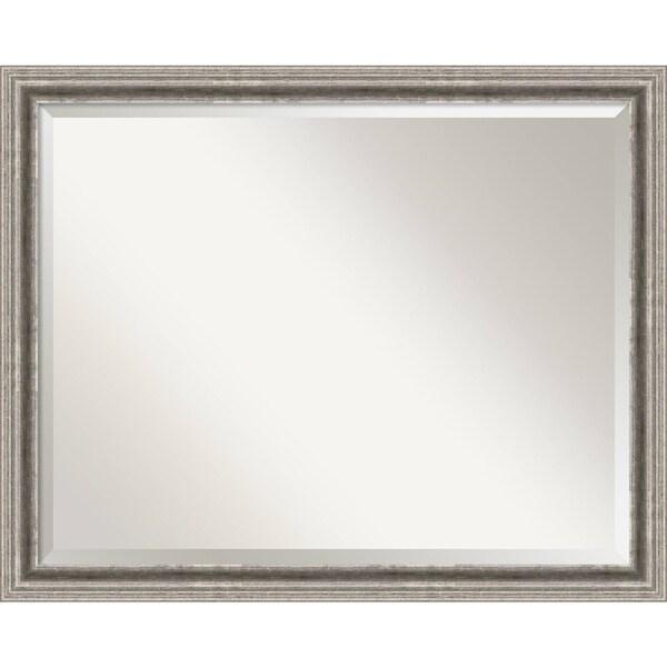 Bathroom Mirror Large, Bel Volto Silver 31 x 25-inch - 25 x 31 x 1.462 inches deep