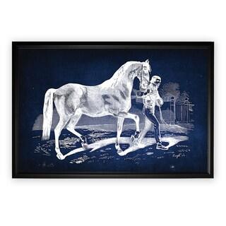 Equine Plate XXII - Black Frame