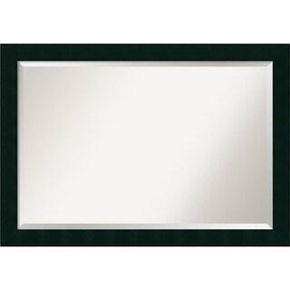 Bathroom Mirror Extra Large, Tribeca Black 40 x 28-inch