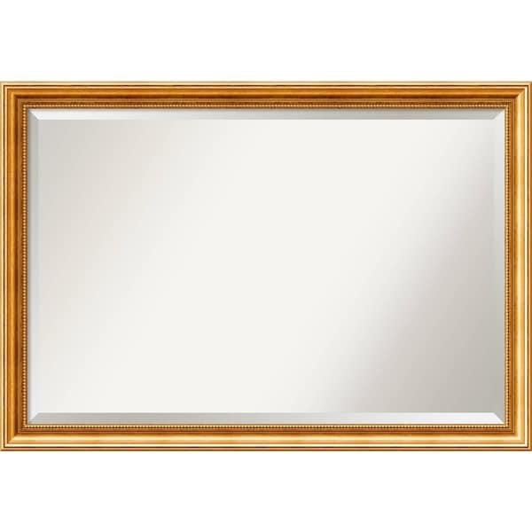 Bathroom Mirror Extra Large, Townhouse Gold 40 x 28-inch