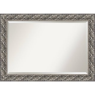 Bathroom Mirror Extra Large, Silver Luxor 42 x 30-inch - 29.75 x 41.75 x 1.209 inches deep