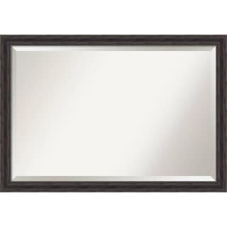 Bathroom Mirror Extra Large, Narrow Rustic Pine 39 x 27-inch