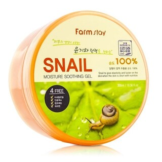 Farmstay 10.14-ounce Moisture Soothing Gel Snail