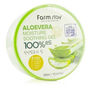 Farmstay 10.14-ounce Moisture Soothing Gel Aloe