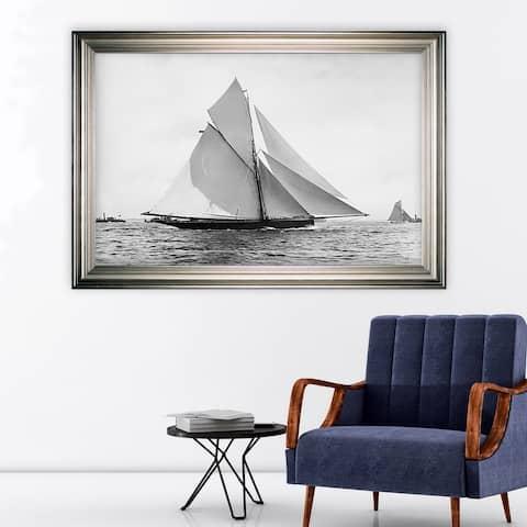 Sailing Yacht V -Silver Frame