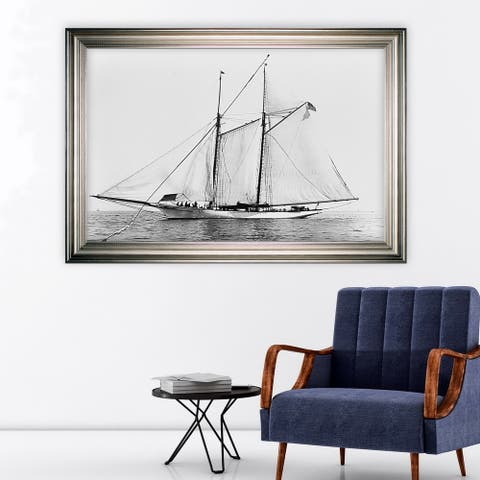 Sailing Yacht III -Silver Frame
