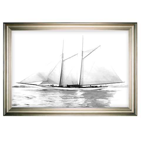 Sailing Yacht I -Silver Frame