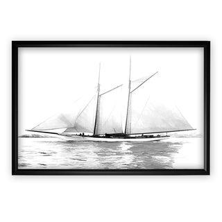 Sailing Yacht I - Black Frame