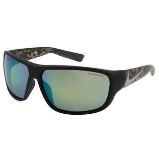 Nike - EV0783-002 Black 65 mm Rectangle Sunglasses