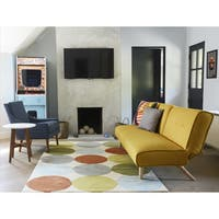 Novogratz by Momeni Delmar Agatha Dots Hand Tufted Wool Area Rug