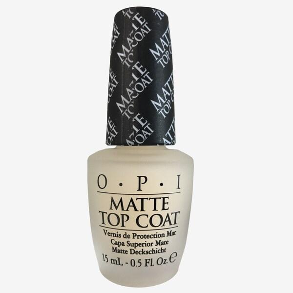 Shop OPI Nail Lacquer Matte Top Coat