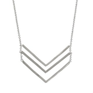 Eternally Haute Triple Chevron Layering Necklace