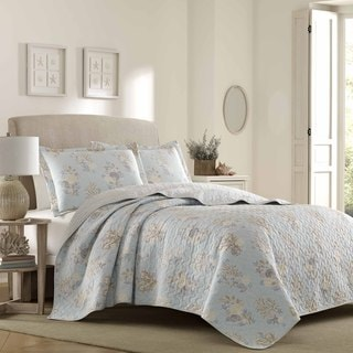 Laura Ashley Seaside Quilt Set