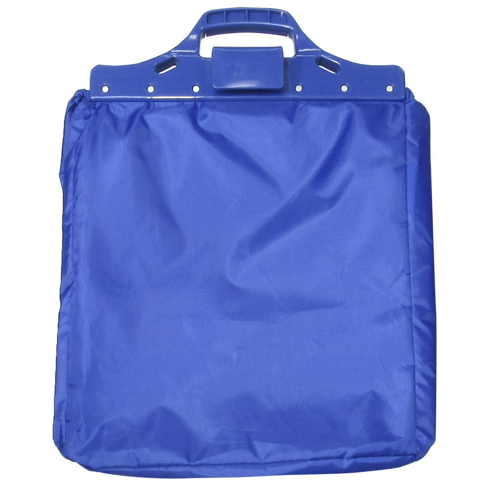 TrailWorthy Grocery Cart Tote Bag, Blue