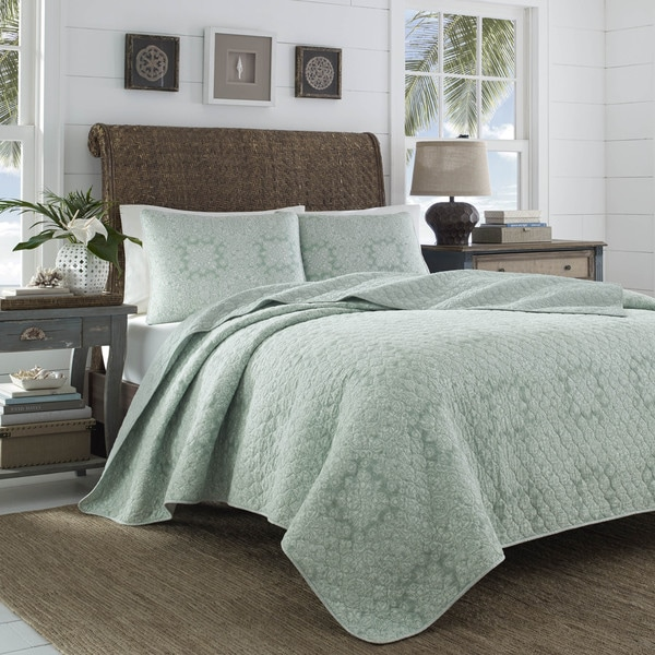 Shop Tommy Bahama Tranquil Trail Quilt Set Free Shipping