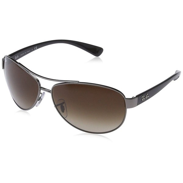 b46dab69d6 Ray-Ban RB3386 Unisex Gunmetal Black Frame Brown Gradient 67mm Lens  Sunglasses. Click to Zoom