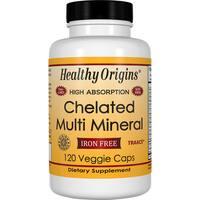 Healthy Origins Chelated Multi Mineral (120 Veggie Capsules)