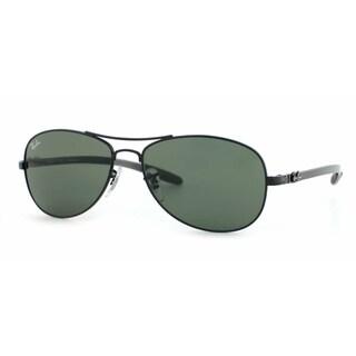 Ray-Ban RB8301 Men's Black Frame Green Classic 59mm Lens Sunglasses