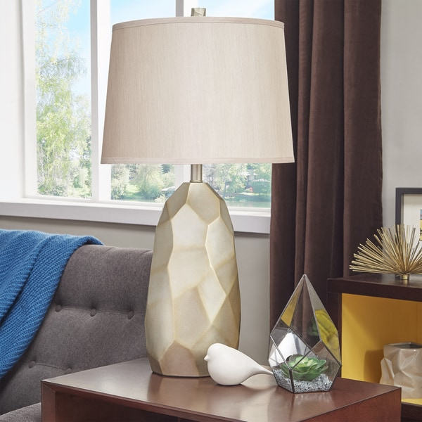 Jacqueline Faceted Table Lamp by iNSPIRE Q Modern