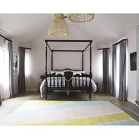 Novogratz by Momeni Delmar Brushstroke Wool Rug (8' x 10') - 8' x 10'
