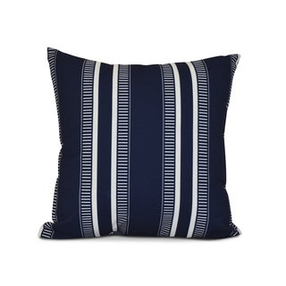 Link to 16 x 16 inch,Dashing Stripe, Stripe Print Pillow, Navy Blue Similar Items in Decorative Accessories