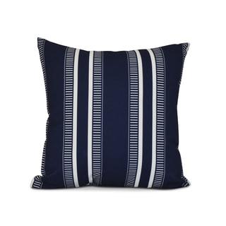 16 x 16 inch,Dashing Stripe, Stripe Print Pillow, Navy Blue