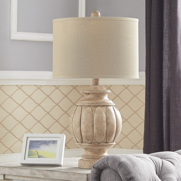 Townsend Washed Antique Table Lamp by iNSPIRE Q Classic