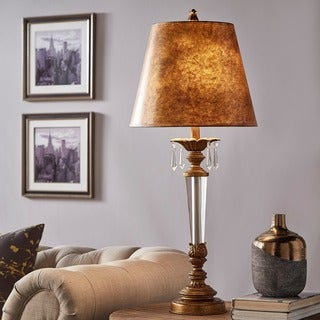 Fairchild Gold + Crystal Table Lamp by iNSPIRE Q Classic