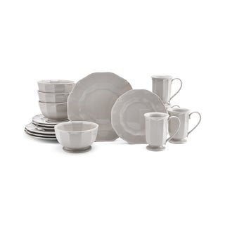 Mikasa Bordeaux Beige 16 Piece Dinnerware Set