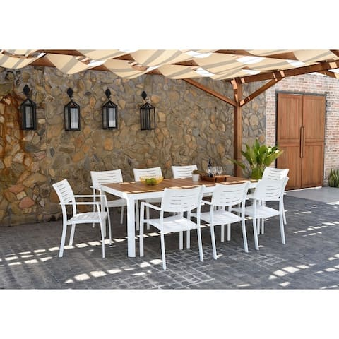 Atlantic John 9 Piece Patio Dining Set